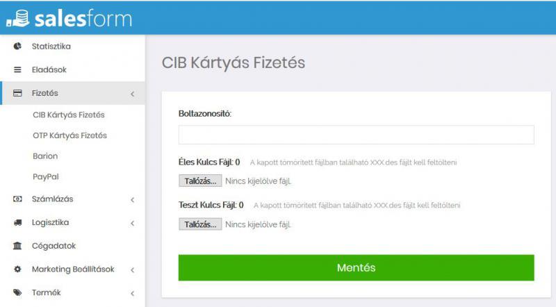 Cib online bankkártya fizetéshez a szerződés menete