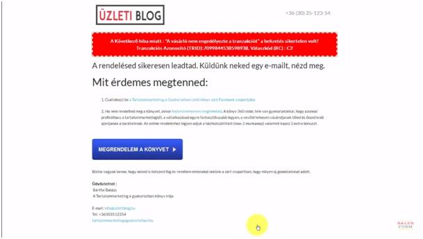 [Gyakorlat] Rendelés utáni remarketing kampány és email sorozat egyszerűen