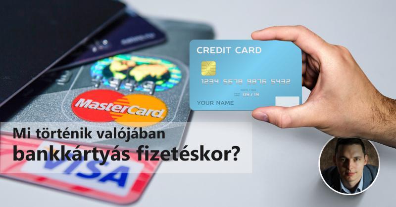 Mi történik a honlapon, amikor bankkártyával fizetnek nálad?