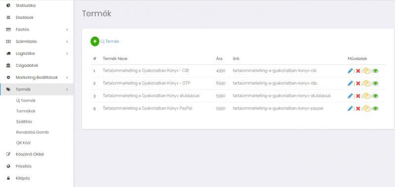 Sales Form Demo - így működik egy okos rendelési űrlap
