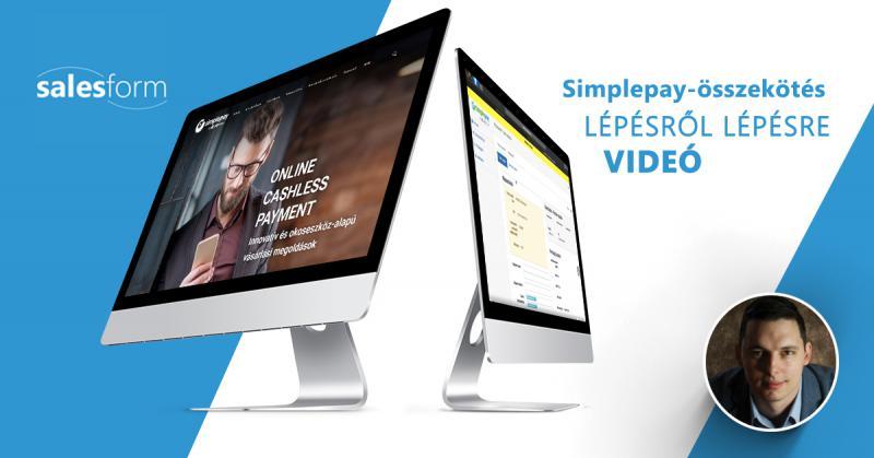 A SalesForm hogyan működik együtt a Simplepay-jel?
