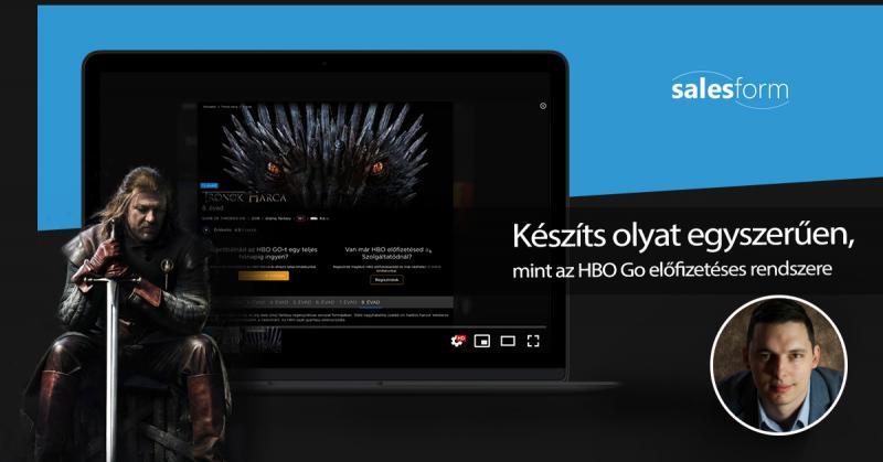 [Videó] – Hogyan hozz létre egy olyan rendszert évi 25 ezer Ft-ért, amilyet az HBO Go előfizetéses rendszere is használ?